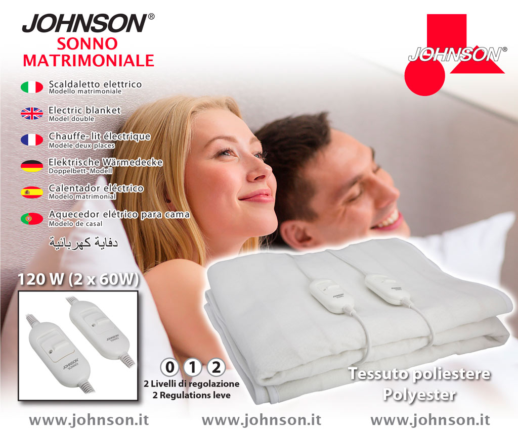 Johnson Sonno matrimoniale box