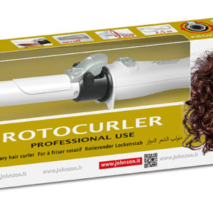 Johnson video Rotocurler